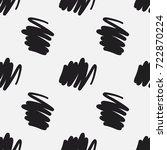 random lines and scrawls hand...   Shutterstock .eps vector #722870224