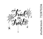 vector hand drawn poster with... | Shutterstock .eps vector #722870236