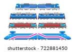 vector flat  modern and ... | Shutterstock .eps vector #722881450