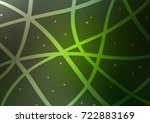dark green vector natural... | Shutterstock .eps vector #722883169