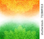background for indian... | Shutterstock . vector #722889313