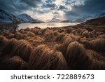 lofoten islands  fredvang | Shutterstock . vector #722889673