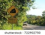 traffic sign | Shutterstock . vector #722902750