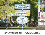 munich germany september 24... | Shutterstock . vector #722906863