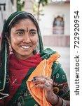 pushkar  india   17th february  ... | Shutterstock . vector #722920954