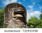 historical park in   thailand ... | Shutterstock . vector #722921938