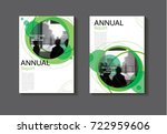 green circle abstract cover... | Shutterstock .eps vector #722959606