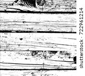 distressed grainy wood overlay... | Shutterstock .eps vector #722961214