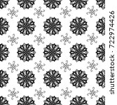 seamless tiling vector texture... | Shutterstock .eps vector #722974426