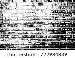 distress brick wall masonry... | Shutterstock .eps vector #722984839