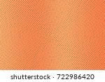 yellow and orange dotted... | Shutterstock .eps vector #722986420