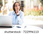 business woman   Shutterstock . vector #722996113