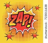 pop art comic speech bubbles... | Shutterstock .eps vector #723011638