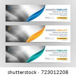 abstract web banner design... | Shutterstock .eps vector #723012208