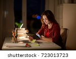 education  technology ... | Shutterstock . vector #723013723