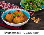 koofteh tabrizi large meatballs ...   Shutterstock . vector #723017884
