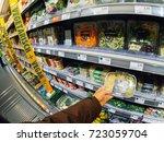 frankfurt  germany   may 3 ... | Shutterstock . vector #723059704