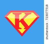 logo super hero | Shutterstock .eps vector #723077518