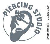 Piercing Logo. Simple...