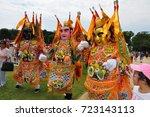 washington  d.c.   july 4  2017 ... | Shutterstock . vector #723143113