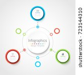 infographic design elements for ... | Shutterstock .eps vector #723144310