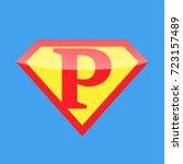 logo super hero | Shutterstock .eps vector #723157489