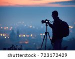 Silhouette Of The Photographer...