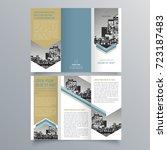 brochure design  brochure... | Shutterstock .eps vector #723187483