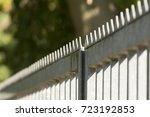 metal fence   Shutterstock . vector #723192853