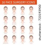 vector illustration  set of 16... | Shutterstock .eps vector #723193900