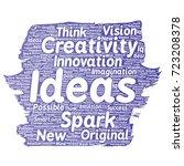vector conceptual creative idea ... | Shutterstock .eps vector #723208378