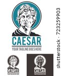 caesar is a template logo in... | Shutterstock .eps vector #723259903