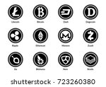 cryptocurrency | Shutterstock .eps vector #723260380
