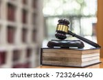 law  legal judgement ... | Shutterstock . vector #723264460