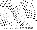 abstract halftone wave dotted... | Shutterstock .eps vector #723275989