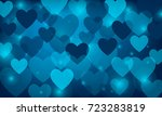 vector  blue background with... | Shutterstock .eps vector #723283819