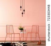 interior design for reception... | Shutterstock . vector #723303448