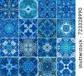 seamless watercolor pattern ... | Shutterstock . vector #723328990