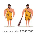 funny cartoon character ... | Shutterstock .eps vector #723332008