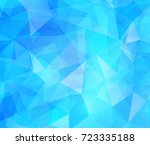 vector background from polygons ... | Shutterstock .eps vector #723335188