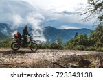 Motorcycle adventure on the...