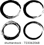 grunge post stamps collection ... | Shutterstock .eps vector #723362068