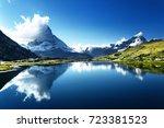 Reflection Of Matterhorn In...