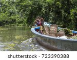 barisal  bangladesh   july 11 ... | Shutterstock . vector #723390388