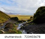 Small photo of Fissure off Route Fifty-Four, Iceland