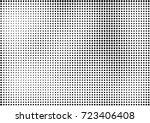 gradient half tone background.... | Shutterstock .eps vector #723406408