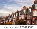 north london properties near... | Shutterstock . vector #723425500