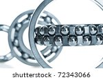 bearing  tool. isolated on white | Shutterstock . vector #72343066