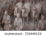 xian  china   may 11  2017  ... | Shutterstock . vector #723448123