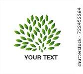 leaves for education or school... | Shutterstock .eps vector #723453364